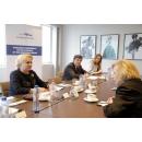 Întrevederea prim-ministrului României, Viorica Dăncilă, cu  secretarul general al Organizației Mondiale pentru Restituirea Proprietăților Evreiești
