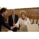 Le Premier ministre Viorica Dăncilă et les membres du Gouvernement de la Roumanie ont rencontré le Secrétaire général du Conseil de l'UE, M. Jeppe Tranholm-Mikkelsen