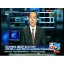 Intervenţia primului-ministru Victor Ponta în cadrul emisiunii Quest Means Business, la postul de televiziune CNN