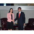 Vice Prime Minister Ana Birchall met with the Minister of Foreign Affairs of Japan Tarō Kōno