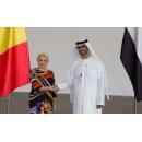 Întrevederea prim-ministrului Viorica Dăncilă cu Dr. Sultan Ahmed Al Jaber, ministru de stat pentru afaceri economice și comerciale al  Emiratelor Arabe Unite