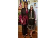 Viceprim-ministrul Ana Birchall alături de Jackie Walorski, membru al Congresului Statelor Unite