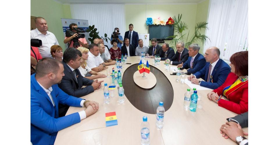 Vizita premierului Dacian Cioloș în Republica Moldova