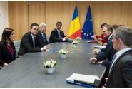 Întrevedere cu Donald Tusk, președintele Consiliului European
