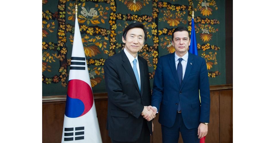 Întâlnirea premierului Sorin Grindeanu cu Yun Byung-se, ministrul afacerilor externe al(...)