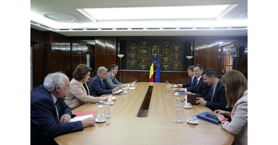 Întâlnire cu reprezentanții ANAF, MFP și Comisiei Naționale de Prognoză