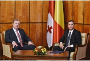 Întrevedere tête-à-tête cu prim-ministrul Georgiei, Giorgi Kvirikashvili
