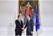 Întrevederea premierului Sorin Grindeanu cu cancelarul Austriei, Christian Kern