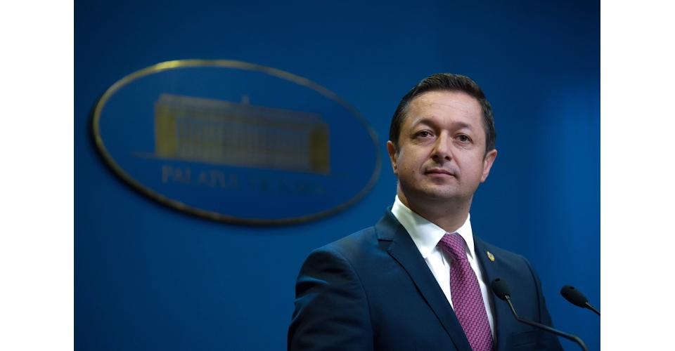 Briefing de presă susținut de ministrul Tineretului și Sportului, Marius Dunca, la finalul(...)