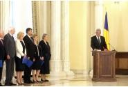 Ceremonia depunerii jurământului de către membrii Cabinetului Tudose