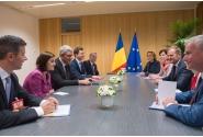 Întrevederea premierului Mihai Tudose cu Donald Tusk, președintele Consiliului European