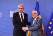 Întrevederea premierului Mihai Tudose cu Jean-Claude Juncker, președintele Comisiei Europene