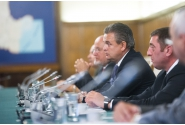 Prime Minister Mihai Tudose met with representatives of the National Union of Romanian Employers