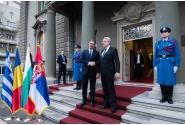PM Mihai Tudose participated in the Romania - Bulgaria - Serbia - Greece quadrilateral meeting