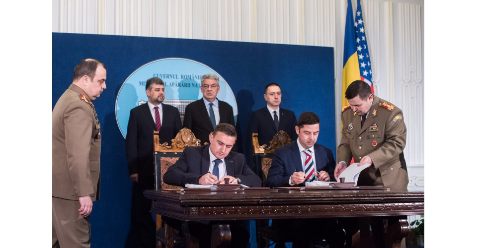 Prime Minister Mihai Tudose attended the contract signing between the Ministry of National Defence(...)