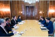Întrevederea vicepremierului Ana Birchall cu Tudor Ulianovschi, ministrul Afacerilor Externe și Integrării Europene al Republicii Molova