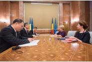 Primirea Excelenței Sale XU Feihong, ambasadorul Republicii Populare Chineze în România, de către doamna prim-ministru Viorica Dăncilă
