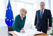 Întrevedere cu Antonio Tajani, președintele Parlamentului European