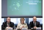 Participare la Forumul Președinților Euroregiunii Siret-Prut-Nistru, împreună cu prim-ministrul Republicii Moldova, Pavel Filip