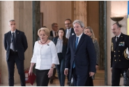 Întrevederea prim-ministrului Viorica Dăncilă cu președintele Consiliului de Miniștri al Republicii Italiene, Paolo Gentiloni