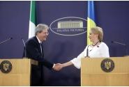 Declarații comune de presă susținute de prim-ministrul Viorica Dăncilă și de președintele Consiliului de Miniștri Paolo Gentiloni