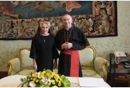 Întrevederea premierului Viorica Dăncilă cu E.S. Pietro Parolin, Cardinalul Secretar de Stat al Sanctităţii Sale