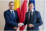 Întâlniri bilaterale între miniștrii de resort
