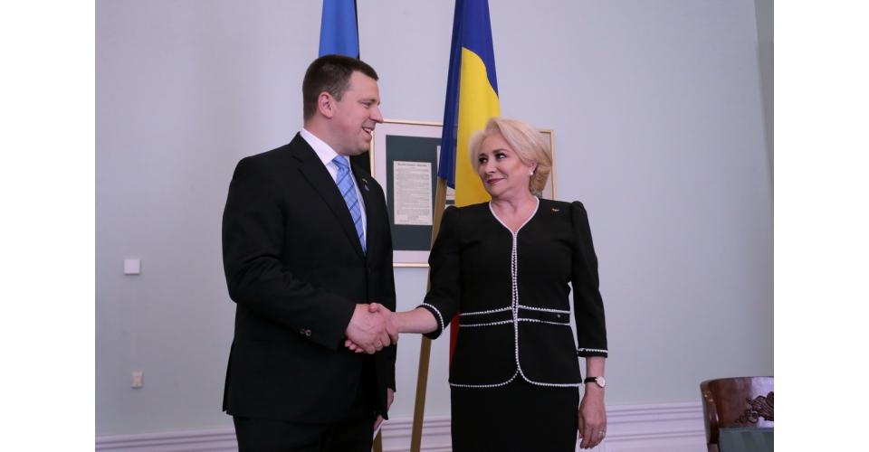 Tête-à-tête with Prime Minister Jüri Ratas preceded by a short tour of the Estonian Government(...)