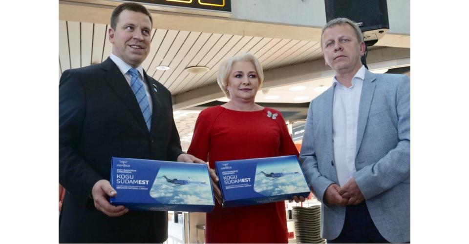 Participarea premierului Viorica Dăncilă, alături de prim-ministrul eston Jüri Ratas, la(...)