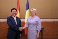 Primirea de către prim-ministrul României, Viorica Dăncilă, a viceprim-ministrului și ministrului afacerilor externe al Republicii Socialiste Vietnam, Pham Binh Min