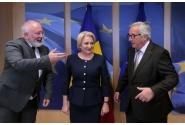 Întrevederea premierului Viorica Dăncilă cu președintele Comisiei Europene, Jean-Claude Juncker