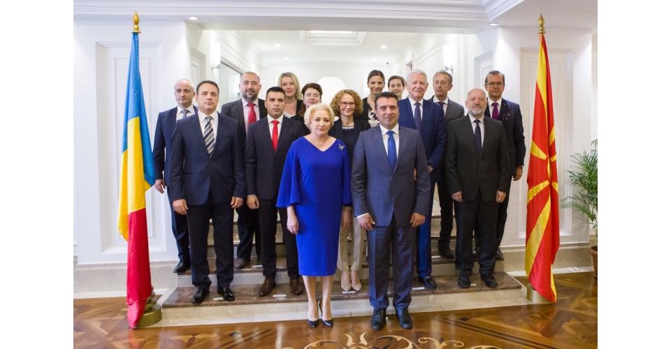 Întrevederea prim-ministrului Viorica Dăncilă cu omologul macedonean Zoran Zaev