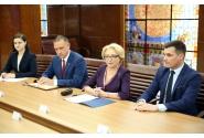 Întrevederea premierului Viorica Dăncilă cu ministrul Apărării din Marea Britanie, Gavin Williamson