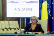 Declarații de presă susținute de premierul Viorica Dăncilă, referitoare la prima rectificare bugetară a anului 2018