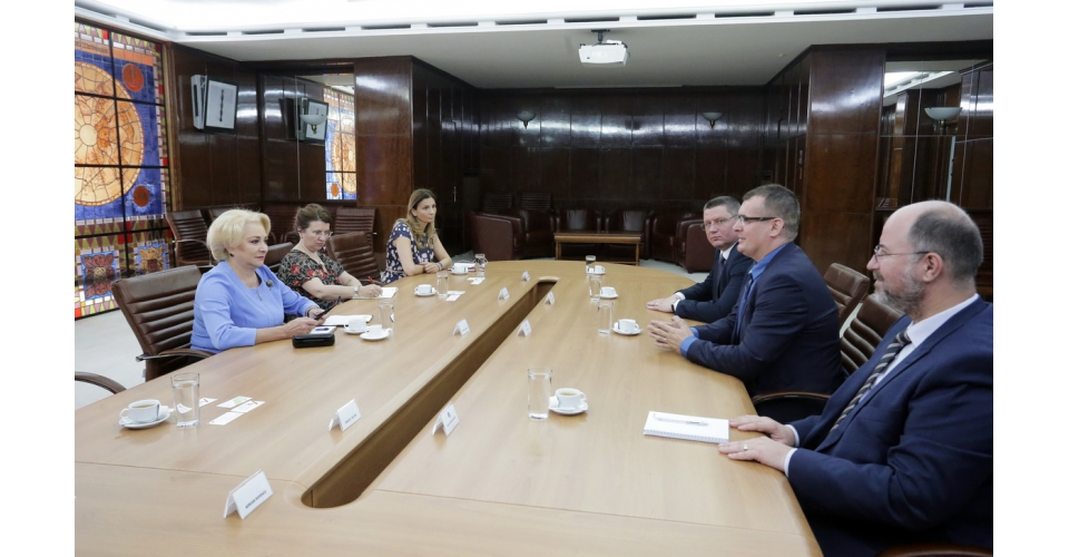 Prime Minister Viorica Dăncilă's meeting  with the representatives of the Romanian Investors(...)
