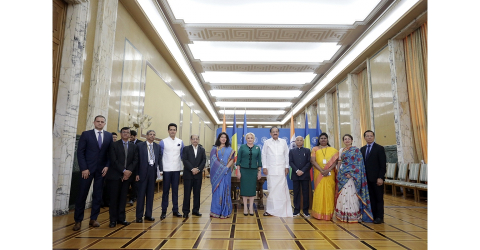 Prime Minister Viorica Dăncilă meets with the Vice President of the Republic of India, Venkaiah(...)