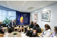 Întrevederea premierului Viorica Dăncilă cu prim-vicepreședintele Comisiei Europene, Frans Timmermans