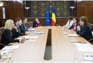 Întâlnirea Ministrului Fondurilor Europene Rovana Plumb cu oficiali ai Comisiei Europene