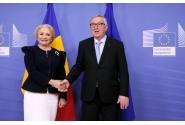 Întrevederea bilaterală a prim-ministrului Viorica Dăncilă cu președintele Comisiei Europene, Jean-Claude Juncker