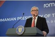 Conferință de presă comună a premierului Viorica Dăncilă și președintelui Comisiei Europene, Jean-Claude Juncker