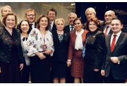 Sosirea delegației guvernamentale conduse de premierul Viorica Dăncilă la sediul Parlamentului European; Întâmpină președintele Parlamentului European, Antonio Tajani