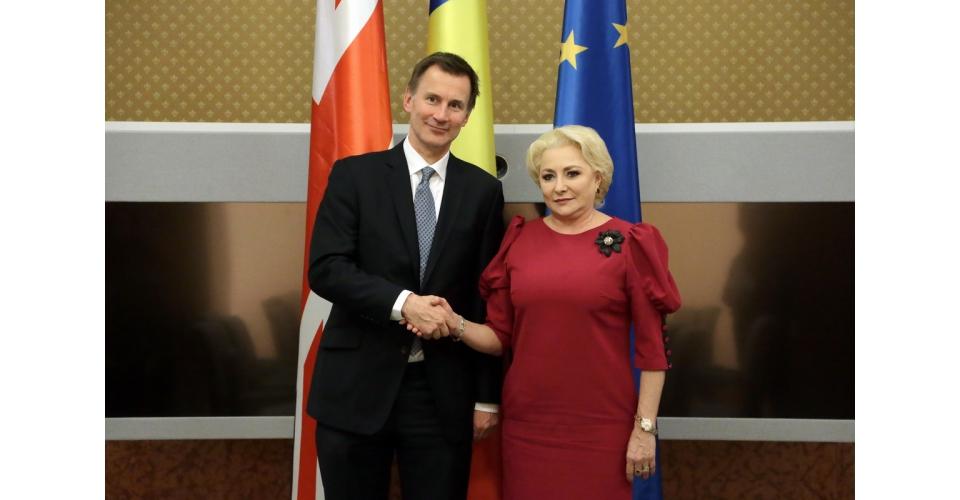 Întrevederea premierului Viorica Dăncilă cu secretarul de stat pentru afaceri externe și(...)