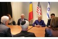 Întrevederea premierului Viorica Dăncilă cu reprezentanții conducerii AIPAC