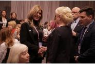 Participarea premierului Viorica Dăncilă la dejunul oficial organizat în onoarea femeilor lider