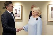 Prime Minister Viorica Dăncilă meets with Prime Minister of Slovenia Marjan Šarec