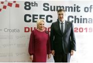 Întrevederea premierului Viorica Dăncilă cu omologul său din Croația, Andrej Plenković