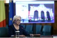 Prezentarea bilanțului rezultatelor obținute de Președinția României la Consiliul Uniunii Europene în primele 100 de zile de mandat, de către prim-ministrul Viorica Dăncilă