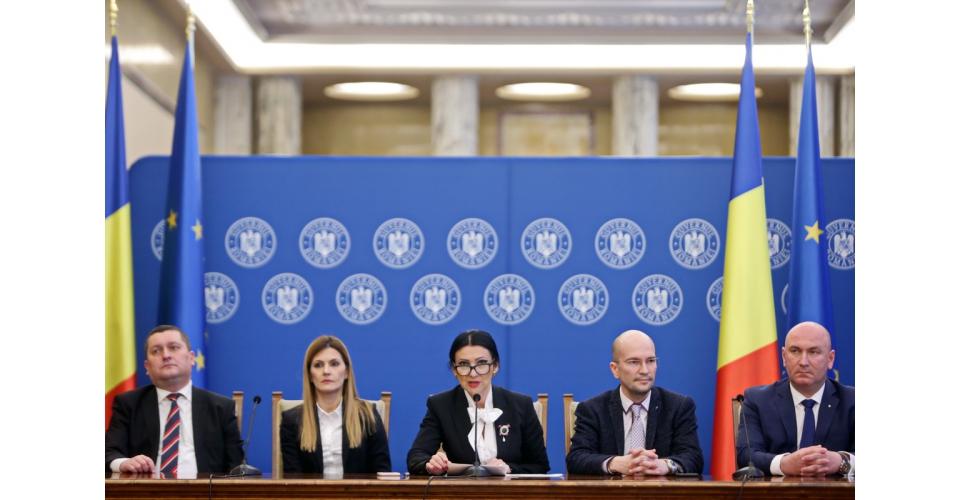 Conferință de presă susținută de ministrul Sănătății, Sorina Pintea