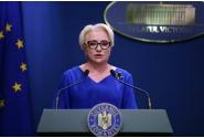 Declarații de presă susținute de premierul Viorica Dăncilă
