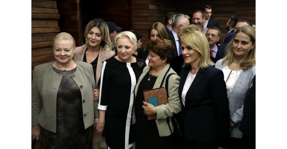 Întâlnirea premierului Viorica Dăncilă cu reprezentanți ai sindicatului RADET, pe tema(...)